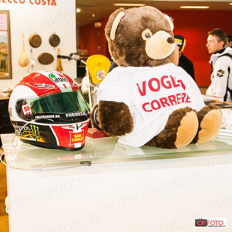 Il casco di Marco Simoncelli