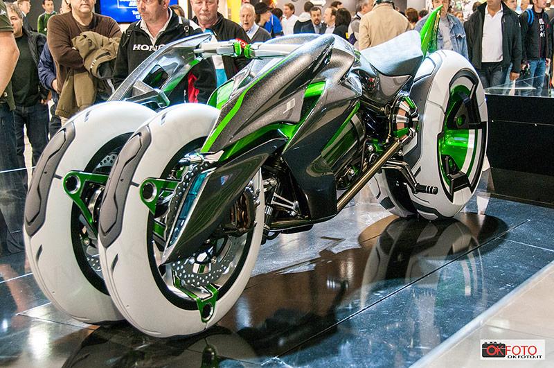 prototipo Kawasaki all'Eicma