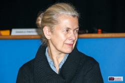 Sabina Colonna Preti a Piazza dei Mestieri