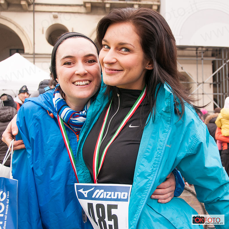 Royal Half Marathon: sorridenti al termine della gara