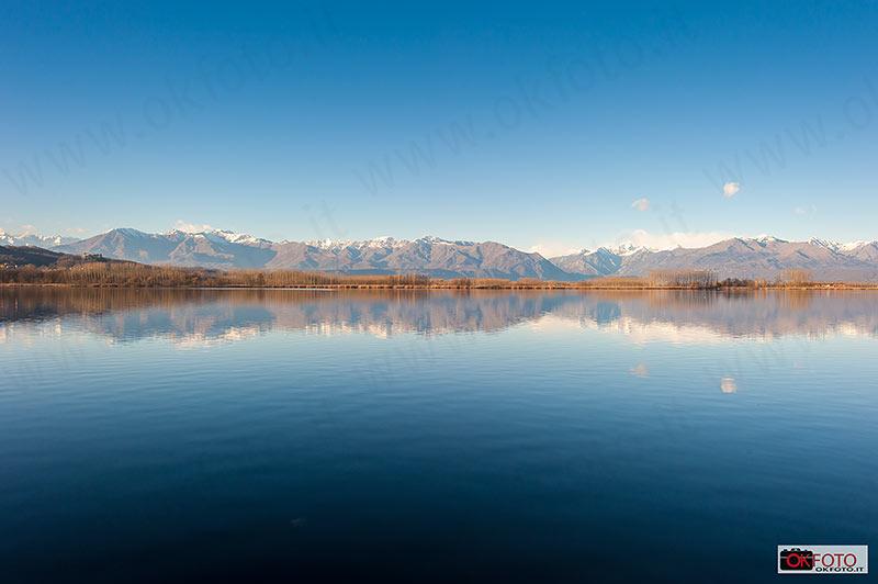 Lago Candia panorama