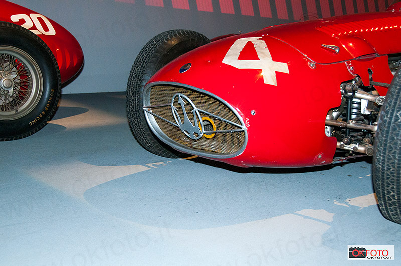 Il Tridente sulla Maserati monoposto