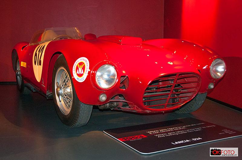 Lancia D24 vincitrice della Carrera panamericana nel 1953