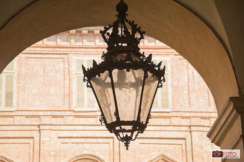 cortile di Palazzo Reale, particolari
