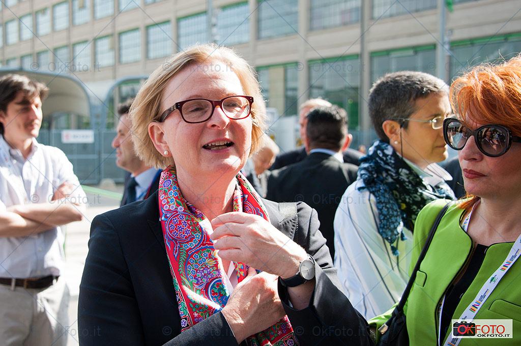 Susanne Schutz, Salone del libro 2015