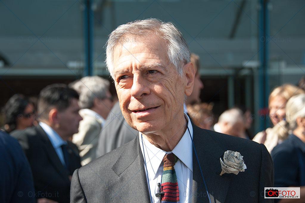 Ernesto Ferrero, direttore editoriale del Salone del Libro