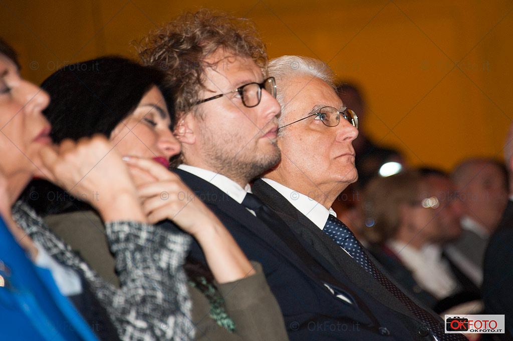 Il presidente Mattarella e il sottosegretario Luca Lotti al Salone del libro