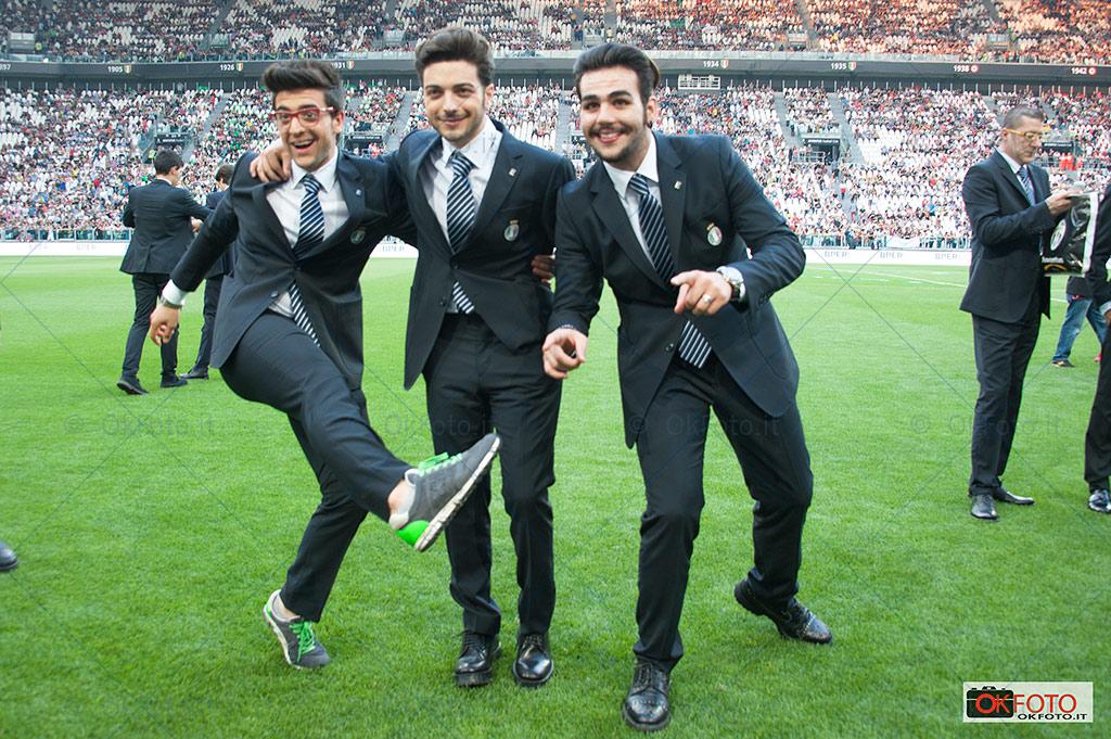 Il Volo alla Partita del cuore allo Juventus Stadium
