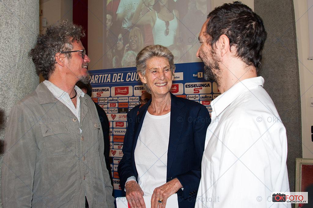 Allegra Agnelli con Niccolò Fabi, Nazionale Italiana Cantanti