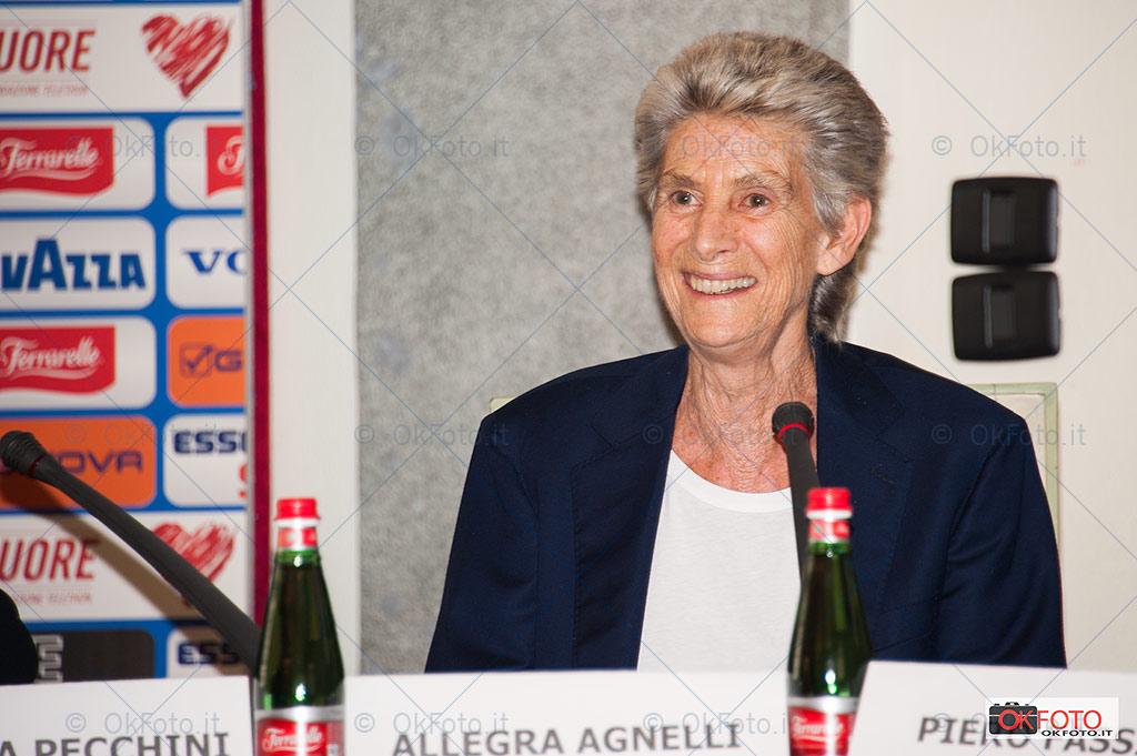Allegra Agnelli, presidente della Fondazione Piemontese ricerca cancro