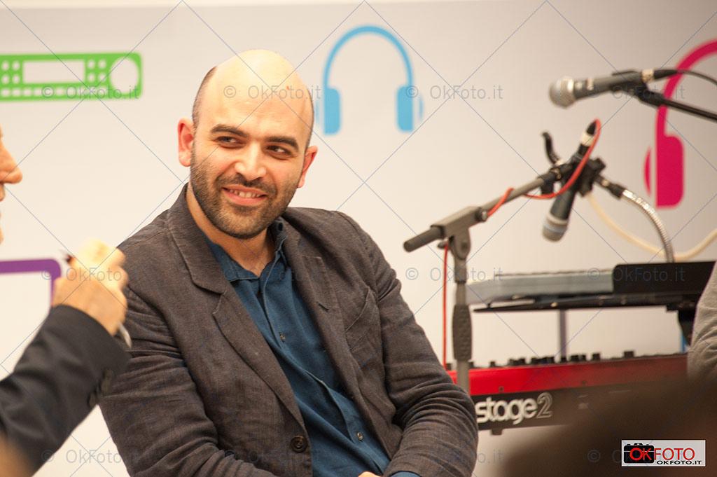 Roberto Saviano al Salone, ospite della RAI