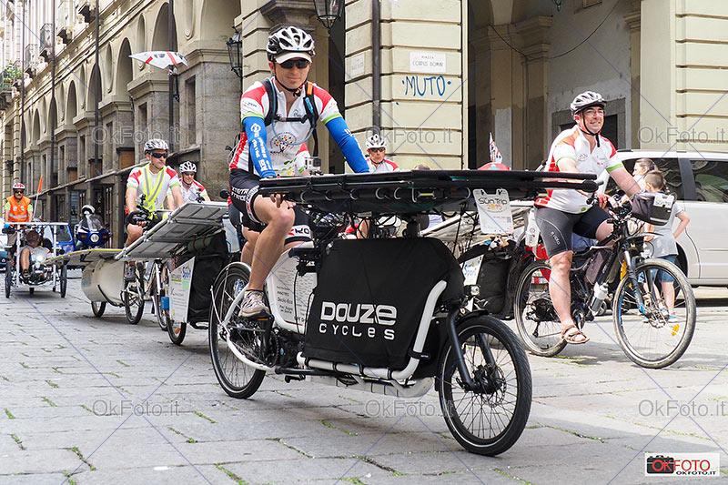Sun Trip 2015: 7.000 km in viaggio su bici ad energia solare