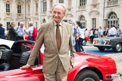 Aldo Brovarone e la Dino Ferrari al Concorso Pininfarina al Castello del Valentino