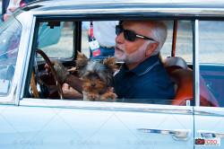 Corrado Lopresto e la sua Lancia Florida a Pinifarina 85