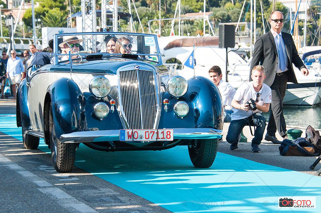 Lancia Astura cabriolet a Saint-Jean-Cap-Ferrat legendes