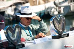 Alfieri Maserati, giudice del concorso di eleganza a Saint-Jean-Cap-Ferrat
