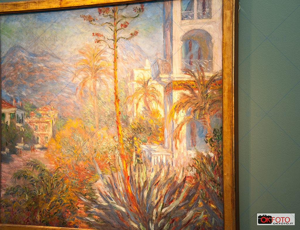 Les villas à Bordighera di Monet  esposto alla GAM di Torino
