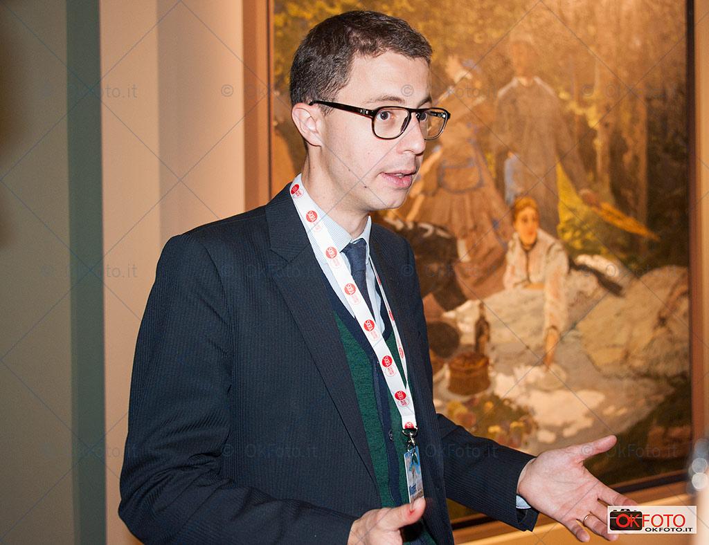 Xavier Rey, conservatore del Musée d'Orsay
