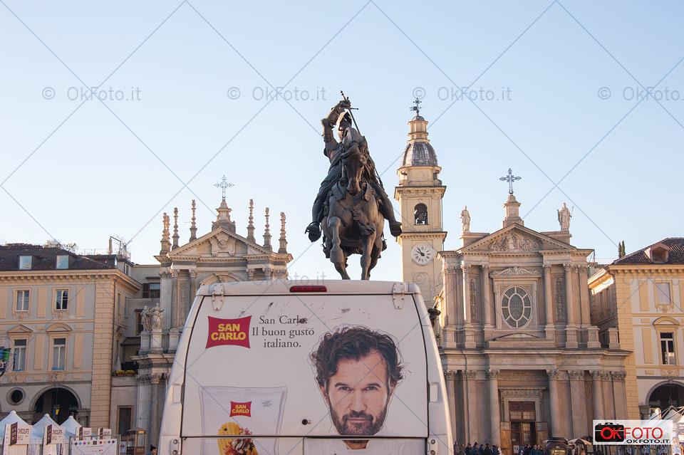 Piazza San Carlo, il buon gusto italiano