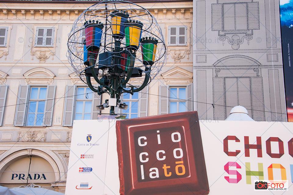 Luci d'artista e CioccolaTò in piazza San Carlo
