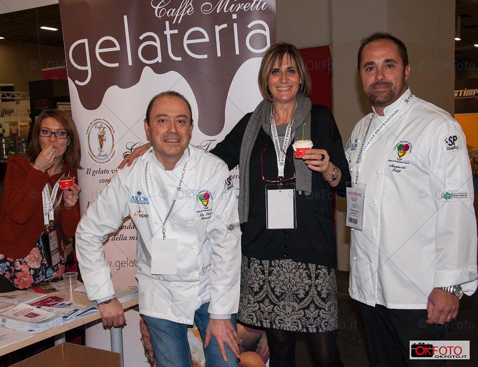 Il gelato di Miretti a Gourmet Expoforum