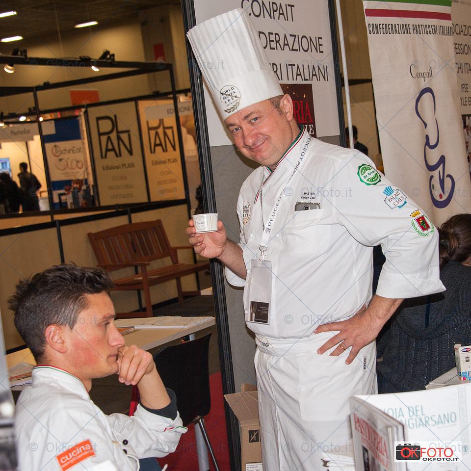 Francesco Favorito a Gourmet Expoforum di Torino
