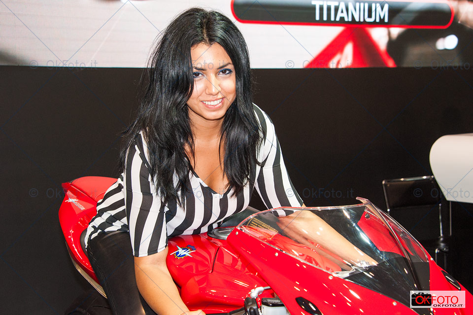 woman friday at Eicma
