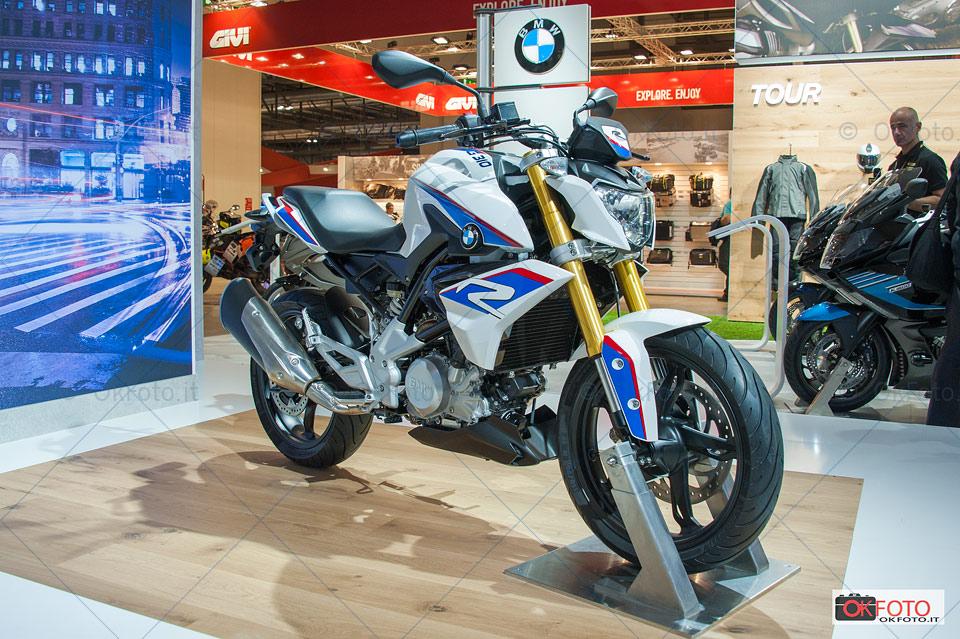 Novità BMW a Eicma: G310