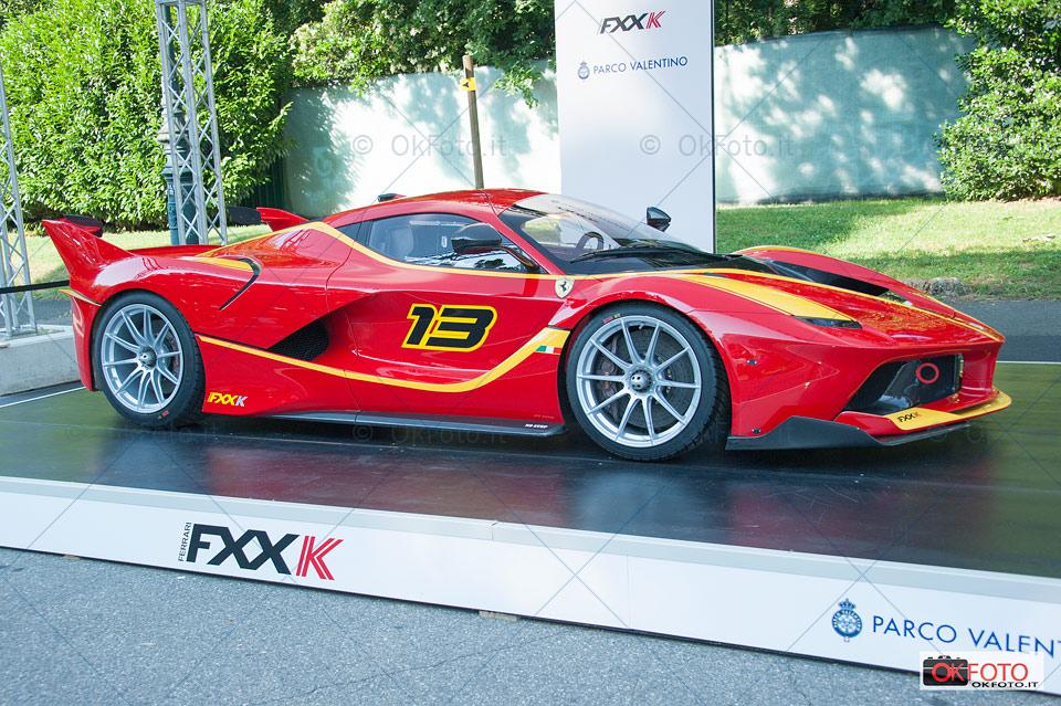 Ferrari Fxx K al Parco Valentino