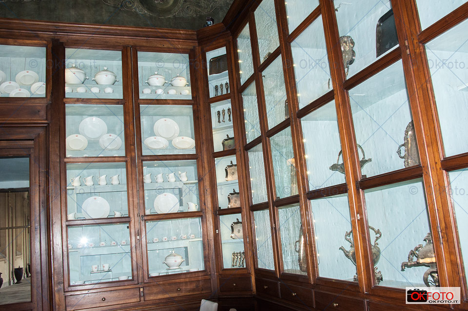 argenti e porcellane di Casa Savoia