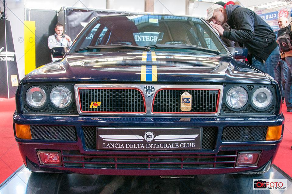 Lancia Delta integrale esposta a Automotoretrò