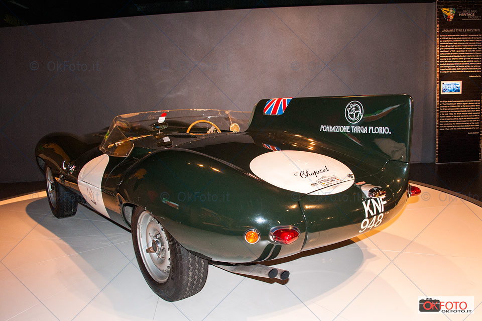 The Jaguar heritage project al Mauto di torino