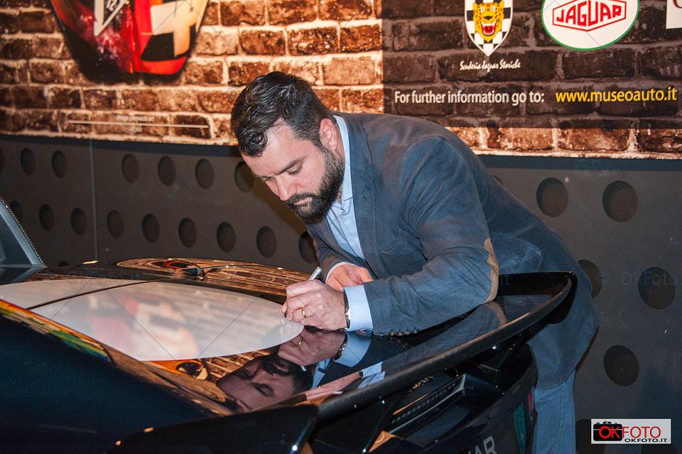 Cesar Pieri e la Jaguar Project 7 al Mauto di Torino
