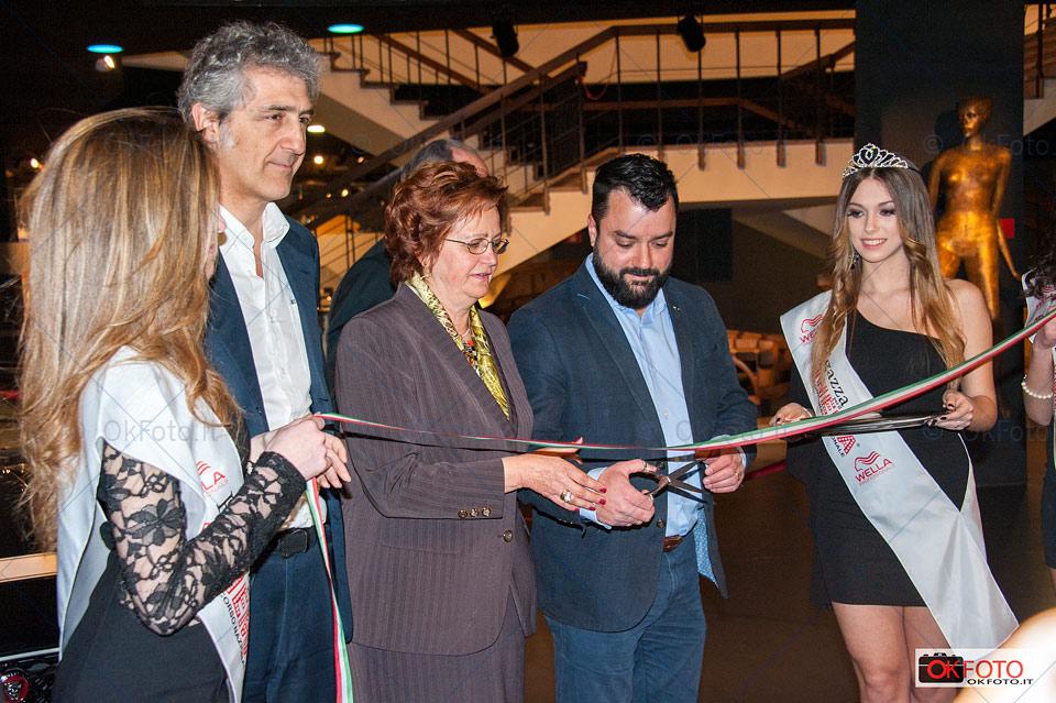 Inaugurazione della mostra The Jaguar heritage project al Museo dell'auto