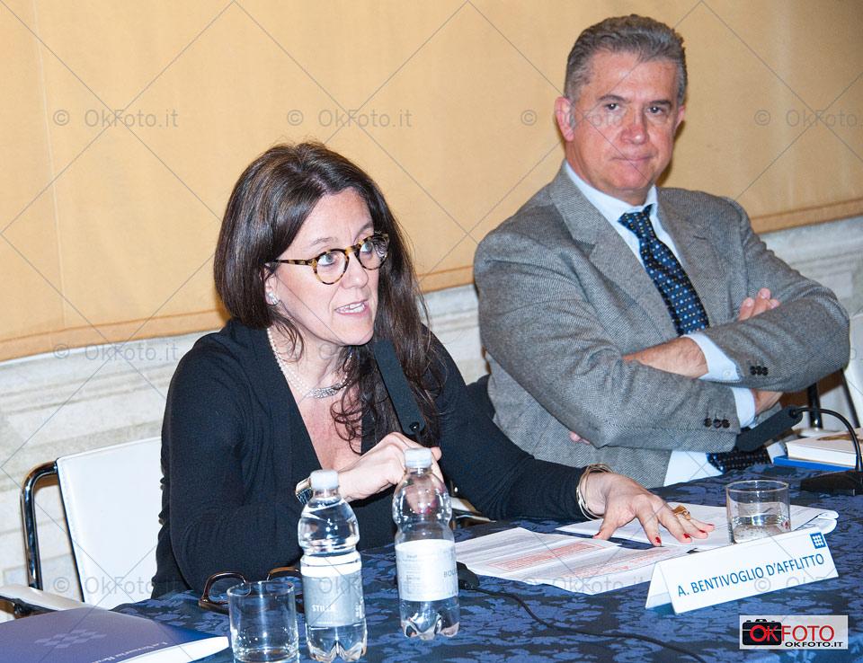 Mario Turetta, direttore della Reggia di Venaria, con Antonella Bentivoglio d'Afflitto