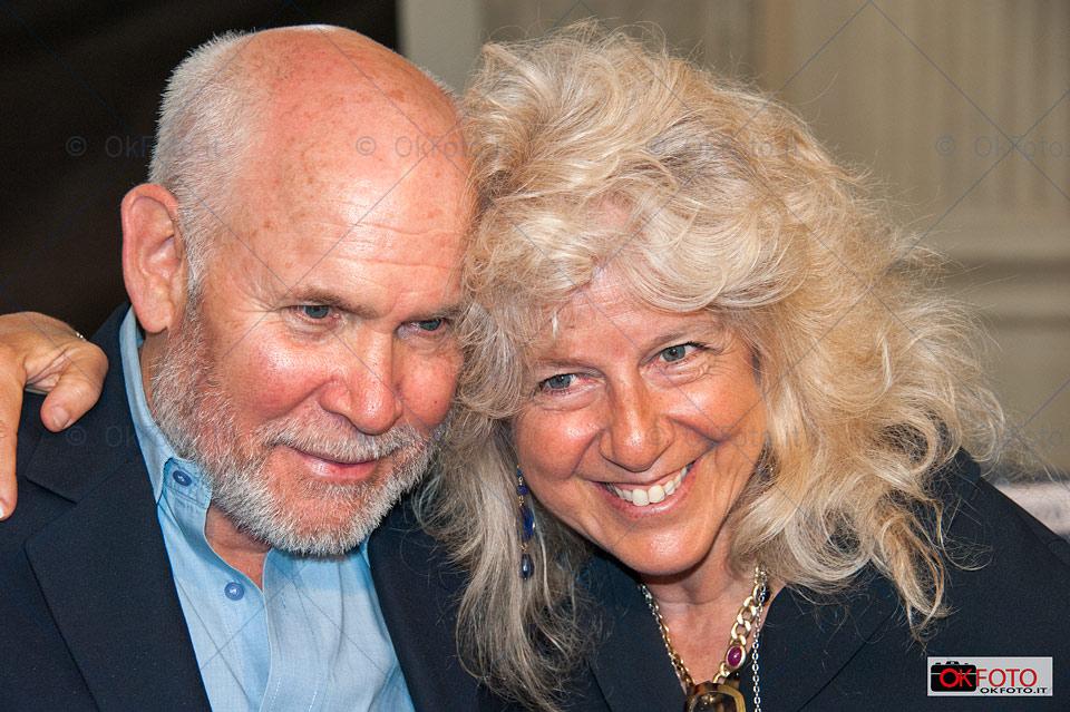 Steve McCurry con Biba Giacchetti