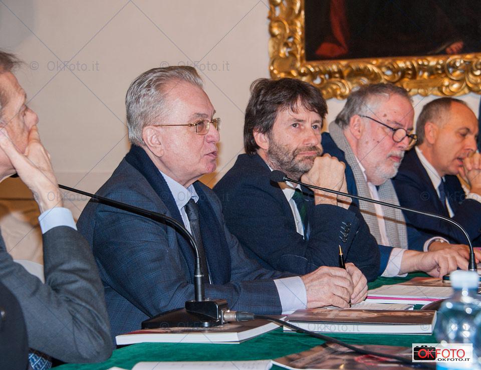Il direttore del Museo Ermitage a Palazzo Madama con il ministro Franceschini