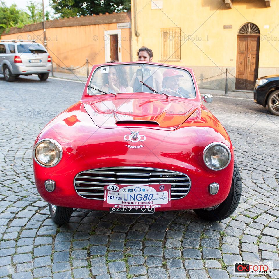 la Topolino Amica, lo stile italiano in occasione di Ling80