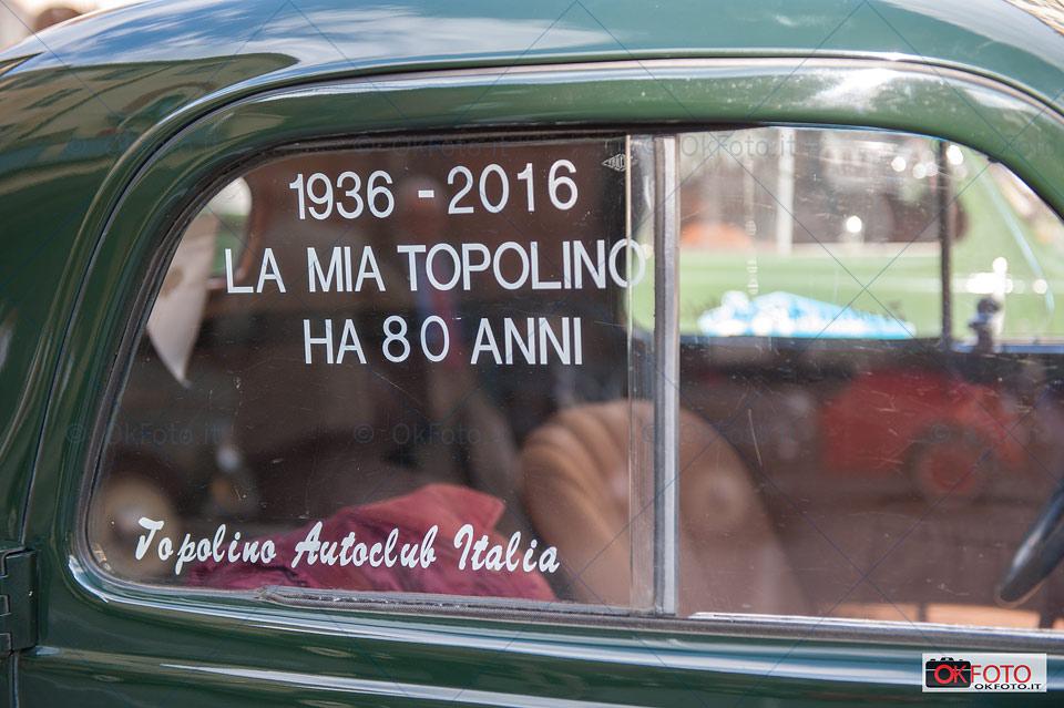 Topolino ha 80 anni, raduno Fiat a Torino