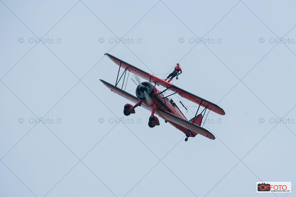 air show all'aeroporto Aeritalia di Torino