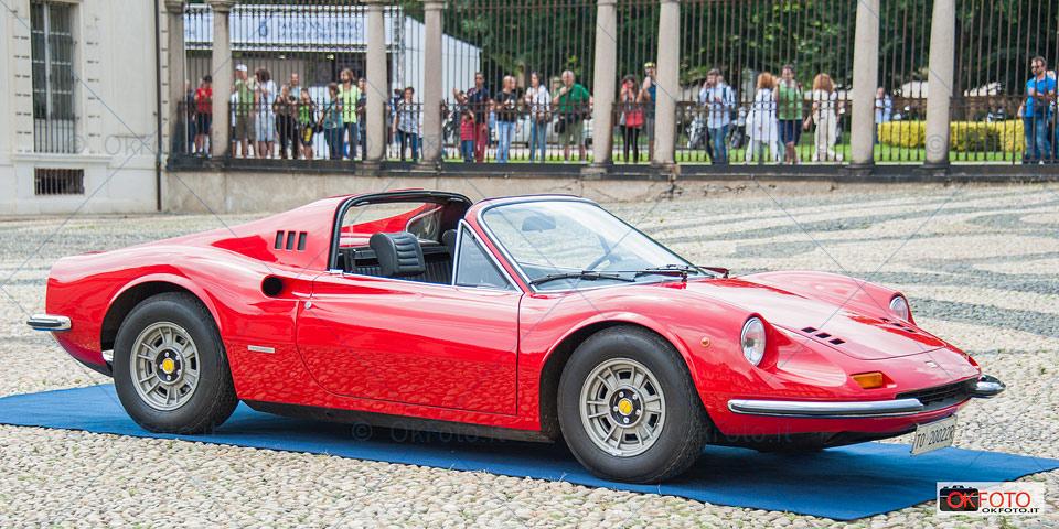 Dino Ferrari disegnata da Aldo Brovarone