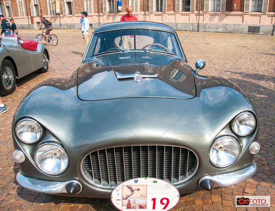 Il muso della Fiat 8V