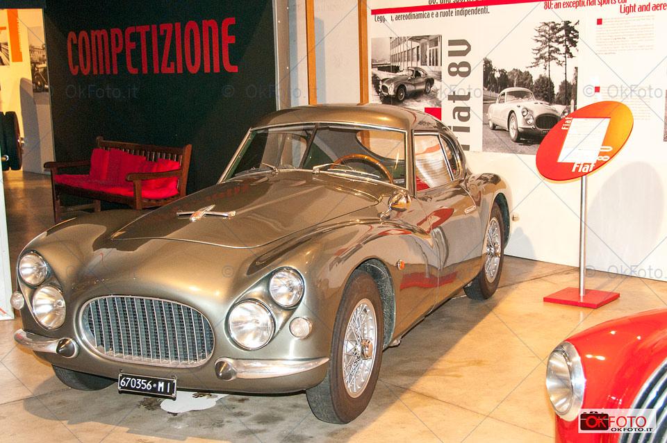 La Fiat 8V esposta al Centro storico Fiat