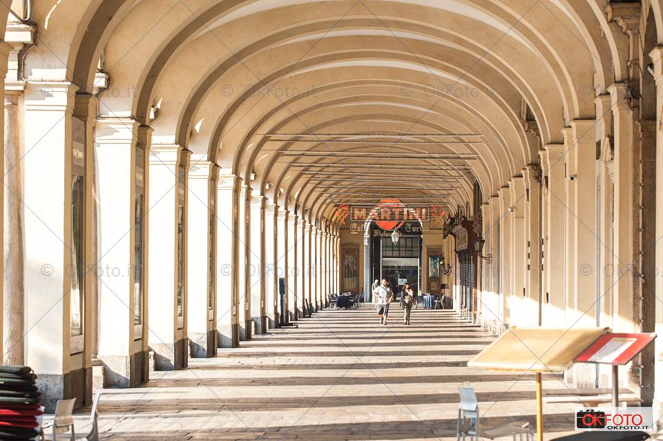 la grande bellezza dei portici di Torino
