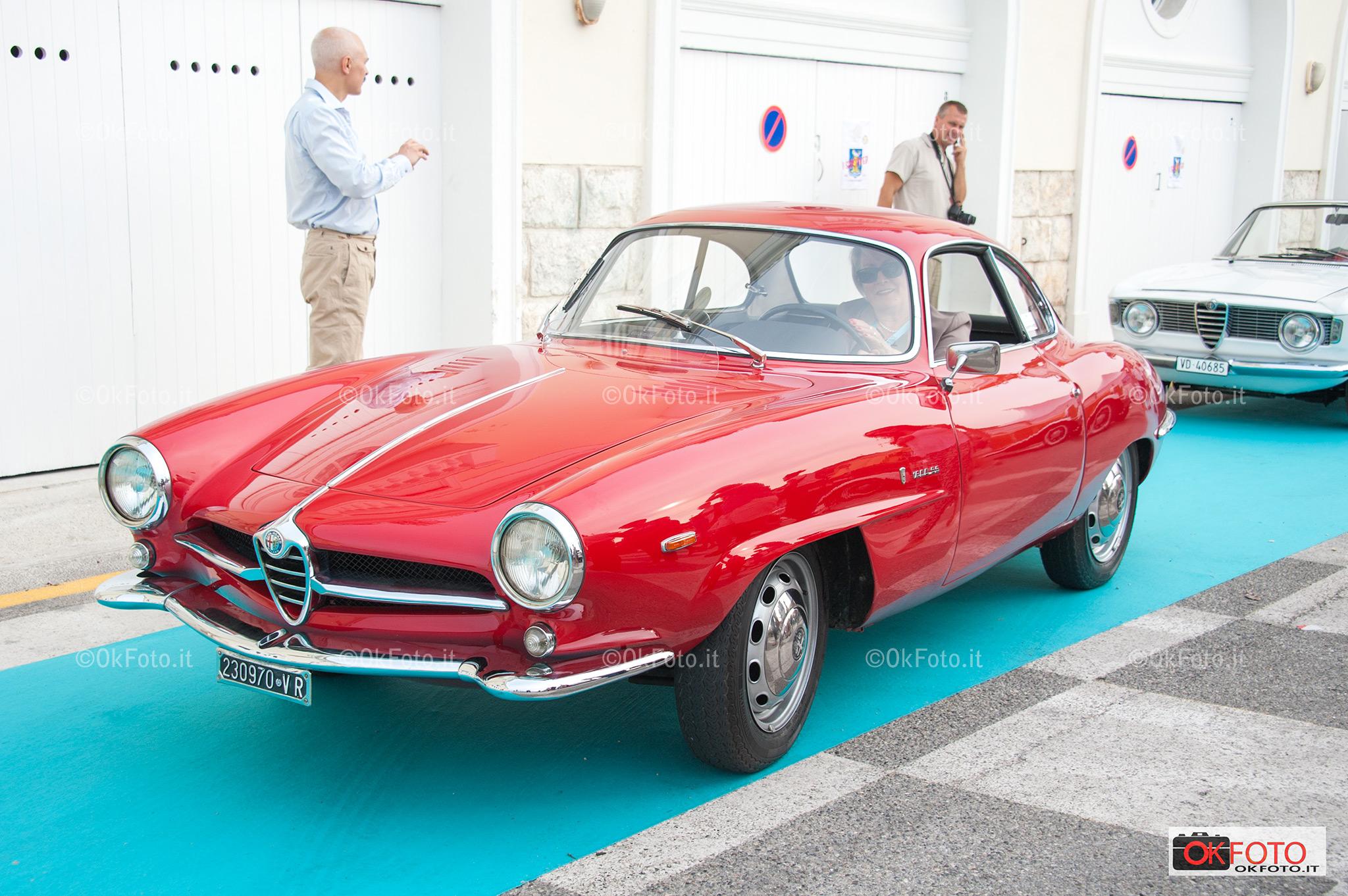Alfa Romeo Giulia SS al concorso Saint-Jean-Cap-Ferrat Prestige