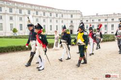 L'arrivo di Napoleone alla Palazzina di Stupinigi