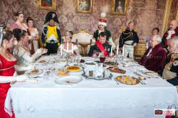L'imperatore Napoleone a pranzo alla Palazzina di Stupinigi