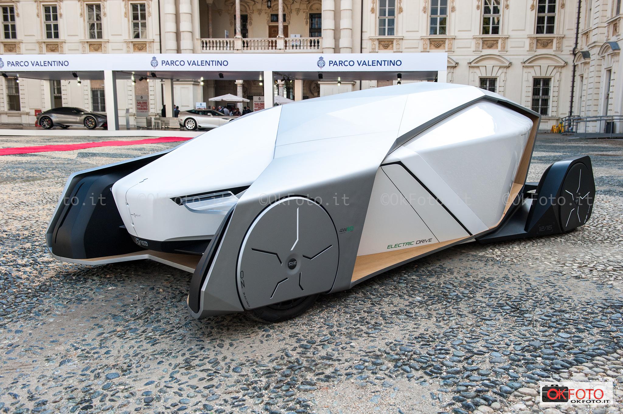 il nuovo format dello stand espostivo di Parco Valentino e un prototipo IED