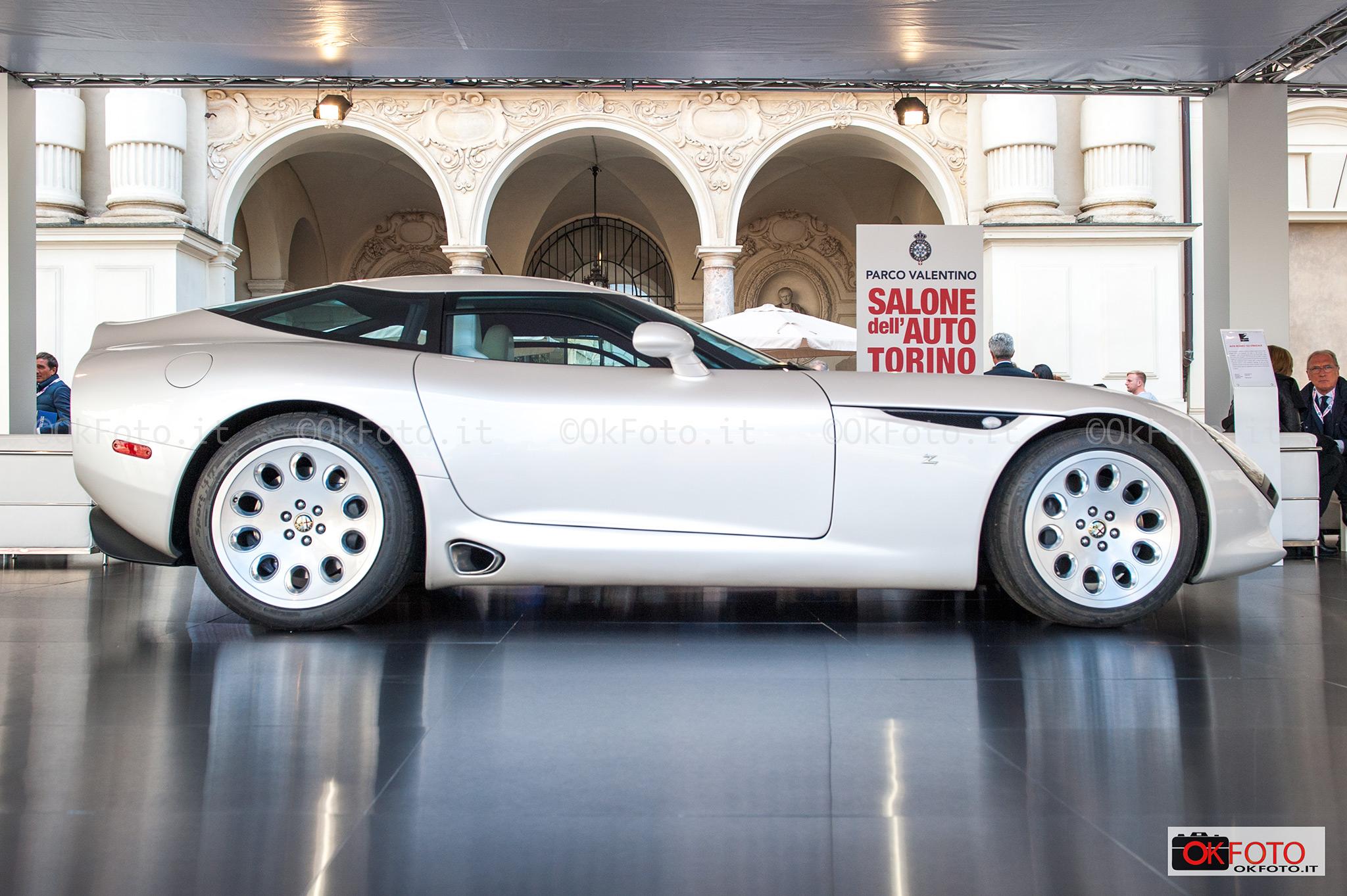 Un prototipo Zagato per Alfa Romeo a Parco Valentino Salone dell'auto di Torino