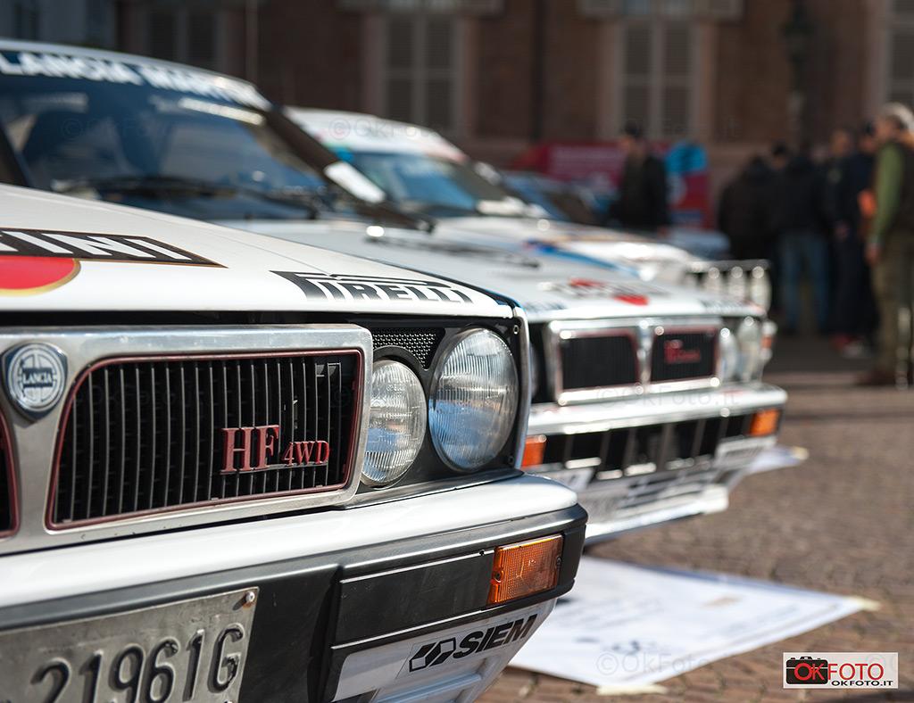 Automotoretrò celebra la vittoria Lancia Delta al rally di Montecarlo del 1987